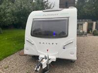 2017 Bailey Pursuit II 530-4 fixed bed Caravan for sale