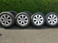 """Audi A3 16"""" alloys with great tyres, 5x112 PCD"""