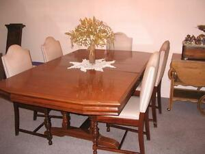 Antique Dining Room Set 12 Pieces