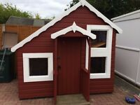 Kids two story playhouse