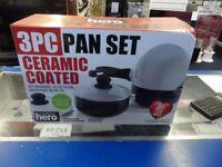 Your Kitchen Hero 3 Pan set/Saucepans