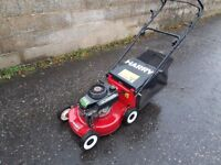 HARRY PETROL LAWNMOWER - SERVICED - EXCELLENT CONDITION AND WORKING ORDER - £59.00