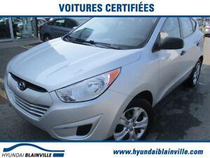 2011 Hyundai Tucson GL A/C,BLUETOOTH,GR ÉLECT,INSPECTÉS EN 120 P