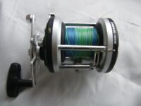 Boat reel and rod