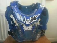 Kids Alpinestars Storm Chest Protector Motocross MX youth