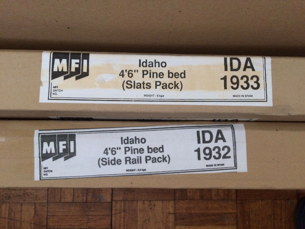 Double Bed 46 Frame Unused Still In Box With All Parts