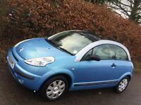 CITROEN C3 PLURIEL **VERY RARE** CONVERTABLE** MOT EXPIRES SEPTEMBER 2018* FULL SERVICE HISTORY**