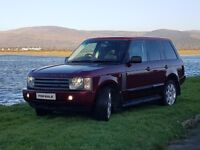 Range Rover TD6 HSE automatic Low Milage 4*4 jeep (cheap car)