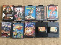 Sega Mega Drive games x12