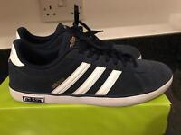MENS ADIDAS NEO DERBY VULCAN TRAINERS UK 9.5 WORN ONCE