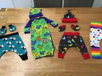 Brand New 0-3 month custom made clothes
