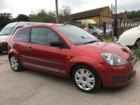 2006 06 reg FORD FIESTA 1.25 Style CLIMATE,80k miles,FSH,JUST SERVICED,very clean car.