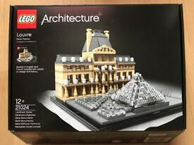 LEGO Louvre Landmark - Part of the Architecture Range