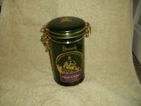 Harrods coffee tin