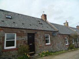 Mid-Terraced 3 bedroom Stone Cottage Near Garvald