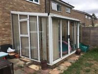 Conservatory 3mtr x 3 mtr approx buyer dismantales