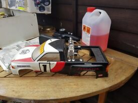 Petrol Rc car