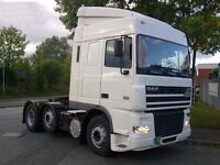 TIPPER OR TRACTOR UNIT FROM 2007 WANTED