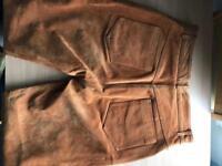 100% genuine brown/tan trousers women's size 14