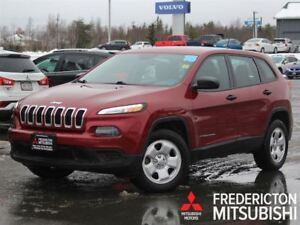2015 Jeep Cherokee SPORT | 4X4 | BLUETOOTH | ONLY 38K