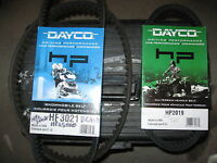 Brand New Dayco Snowmobile and ATV Belts