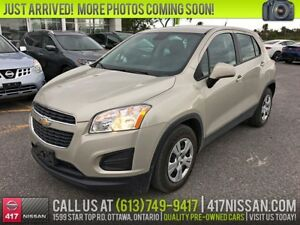 2014 Chevrolet Trax LS | Bluetooth, Air Conditioning, Remote Sta