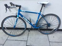 TRECK NO SCRATCHES racer, carbon fork in perfect working