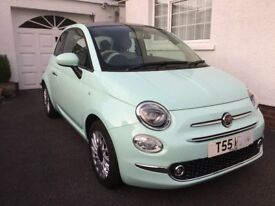 Immaculate Fiat 500 Lounge, as new