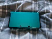 Nintendo 3DS aqua blue + charger