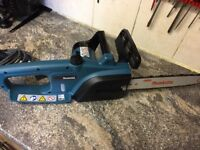 Makita Electric Chainsaw - like new