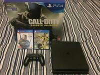 Playstation 4 | 500 GB | Jet Black ( 2 Games | Original Box | Controller) WILL LISTEN TO OFFERS