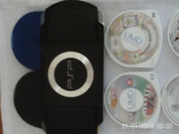 PSP Console & games £10