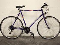 "Classic Men's PEUGEOT PRINCETON Hybrid Town Bike - 23.5"" Frame - Vintage 80s Racing Bike - Restored"