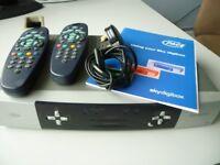 Sky Pace Digibox & 2 Sky Remote Controls