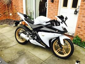 Yamaha yzf r 125 for sale or swap for car