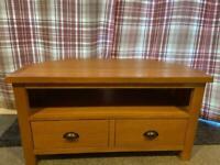 Wiltshire Solid Oak Corner Tv Stand