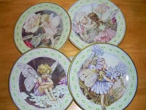 FLOWER FAIRY COLLECTIBLE TIN PLATES