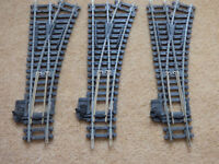 Hornby R613 Right Hand Points, OO Gauge, Ex Layout Good Condition Switches Positive, 3 Available