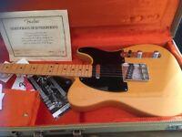 Fender USA 52 Reissue Telecaster Guitar (mint condition)