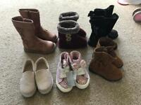 Girls infant size 4 shoes