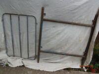 No2 heavy duty tubular H frames.