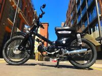Honda C90 with Original Engine and Extremely Low Mileage
