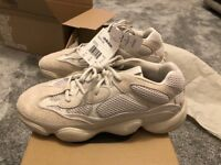 Adidas Yeezy 500 desert rat blush UK size 10