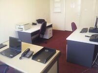 Cheap rent for fully furnished office - 175 sq ft - in BD8. Includes ALL bills.