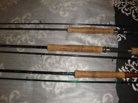 15 fishing rods carp and course fishing fly fishing