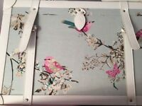 Sold BEAUTIFUL BIRDS FROM DUNELM STORAGE TRUNKS / CHESTS OF