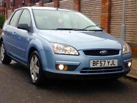 FORD FOCUS STYLE 1.6 AUTOMATIC GENUINE LOW MILEAGE FULL YEARS MOT 3 MONTHS WARRANTY