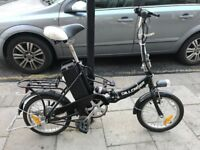 Electric Assist Folding Bicycle - Brilliant!