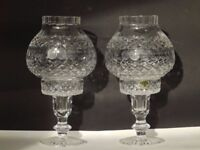 Tyrone Crystal Candle Holders