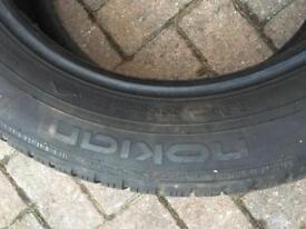 Set of 4 nokon snow tyres 225/55 R17